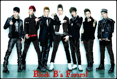 Kpop Nails | Block B's Freeze! Inspired Nails