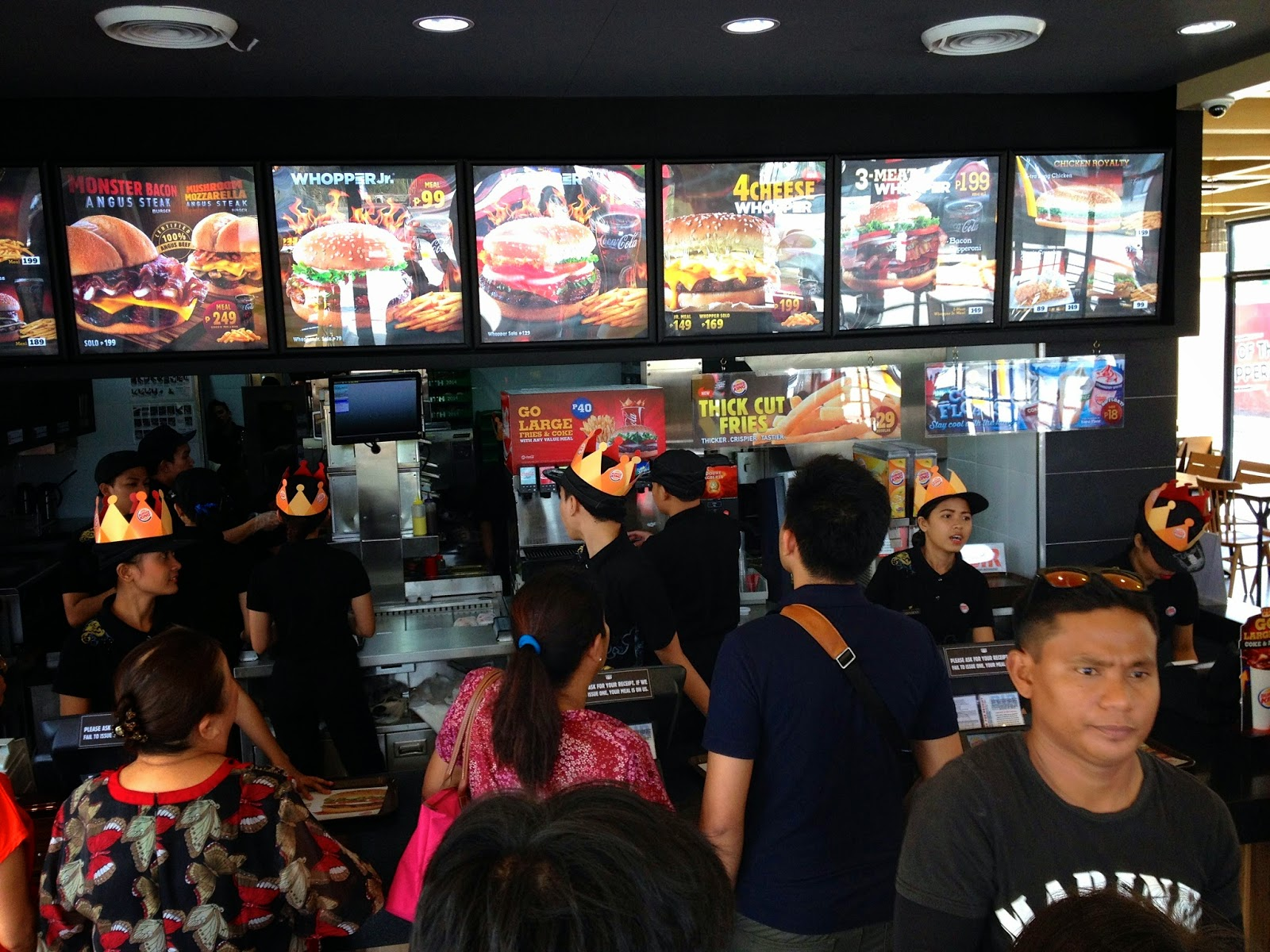 Opening Day Burger King