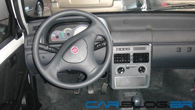 Fiat Uno Mille Way 2013 - interior - painel