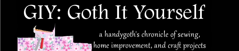 GIY:  Goth It Yourself