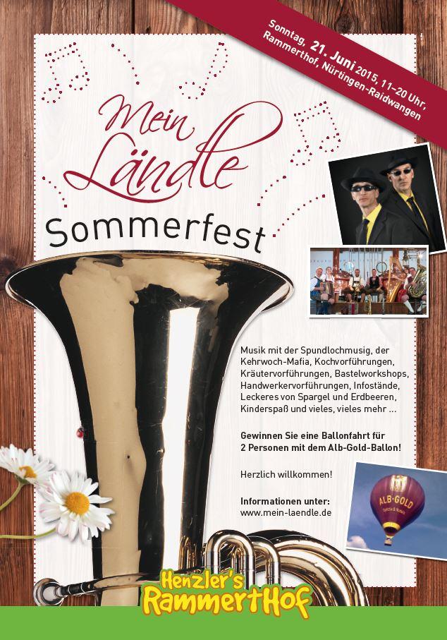 Mein Laendle Sommerfest Workshop Basteln Kinder Attraktion Spundlochmusik Wulf  Wager