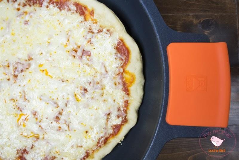 Pizza crujiente sin horno p o recetas for Cocinar yuca al horno