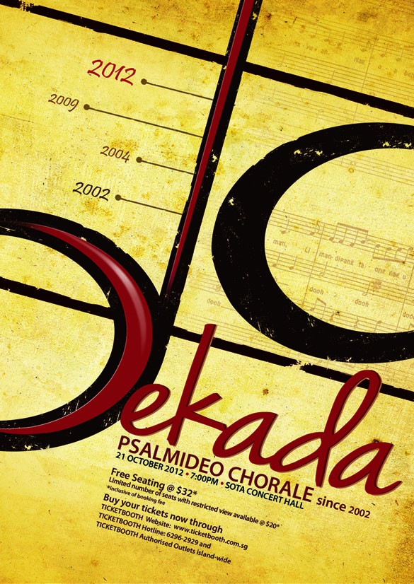 Singapore-based PsalmiDeo Chorale Celebrates 10 Years Via DEKADA Concert Tonight, 10/21