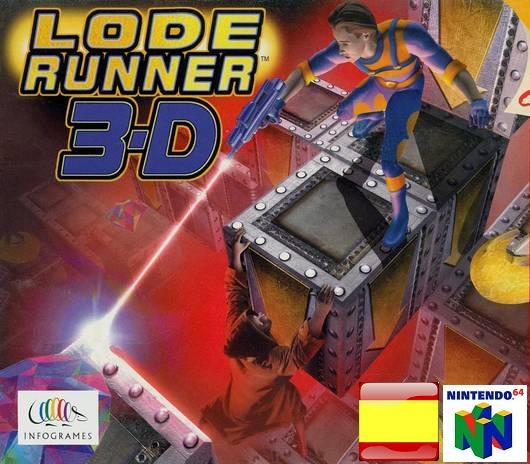 Lode Runner 3-D ROMs Nintendo64 Español