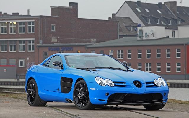 Imagenes del Mercedes-Benz SLR McLaren Azul