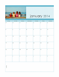 2014 monthly photo calendar, Publisher