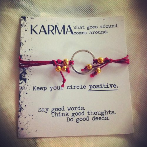 Karma - Keep Your Circle Positive