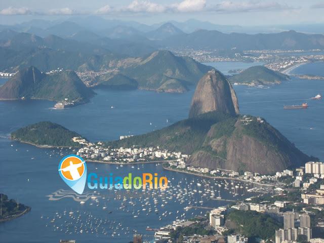 Baía de Guanabara e Pão de Açúcar