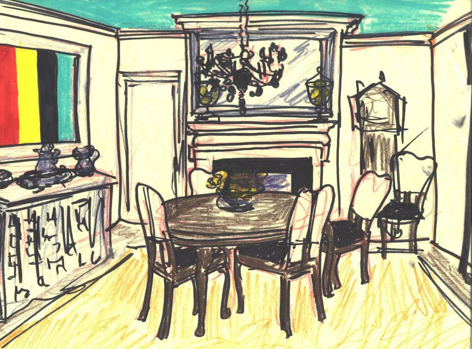 Rowley company more makeover ideas for My dining room 9 course