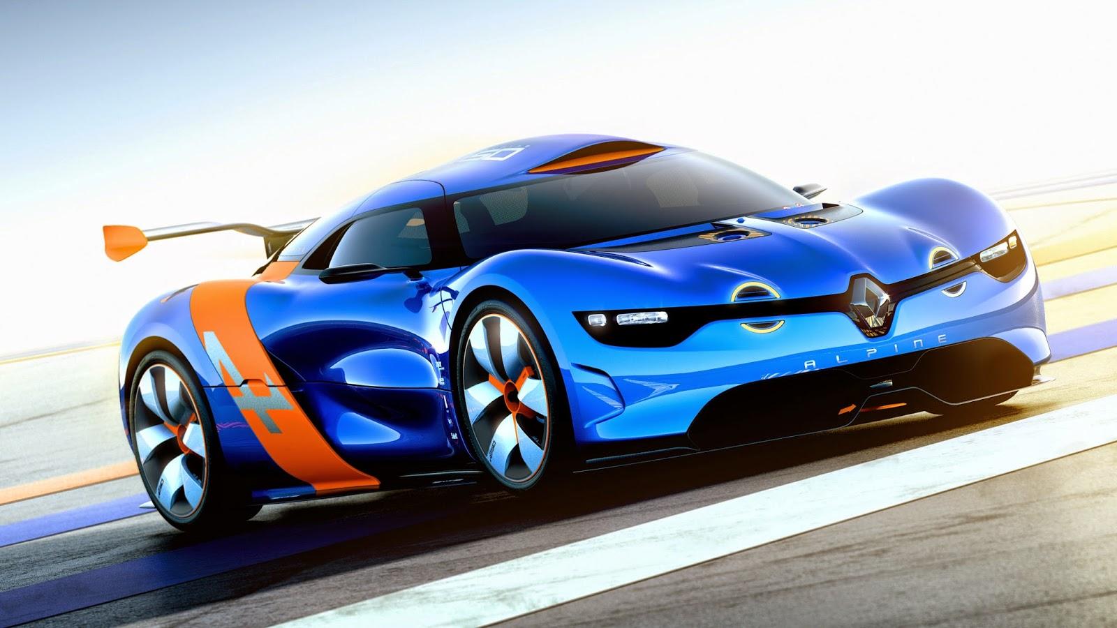 Foto Mobil Balap Renault Terbaru