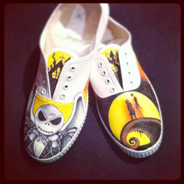 Zapatillas personalizadas Tim Burton