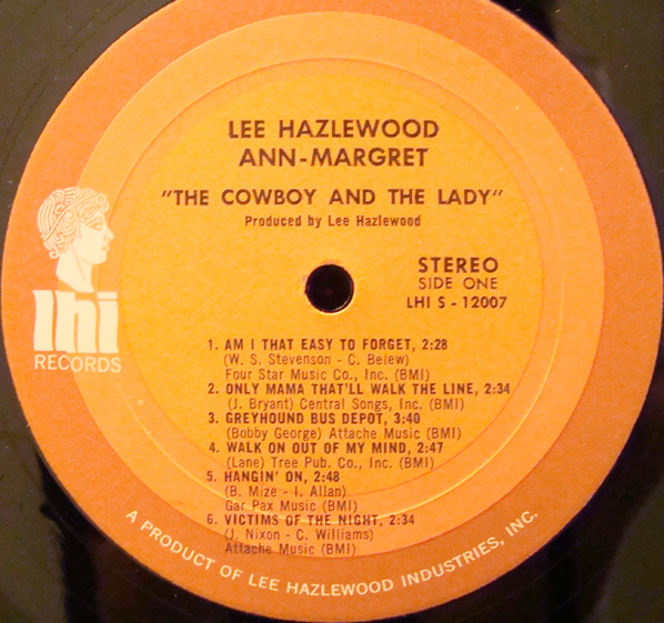Ann Margret Lee Hazlewood Victims Of The Night The Dark End Of The Street
