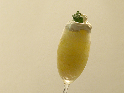 Home Skillet - Cooking Blog: Lemon Mint Granita with Mascarpone ...