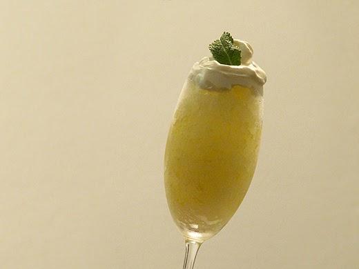 Home Skillet - Cooking Blog: Lemon Mint Granita with ...