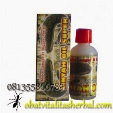 minyak lintah pembesar alat vital