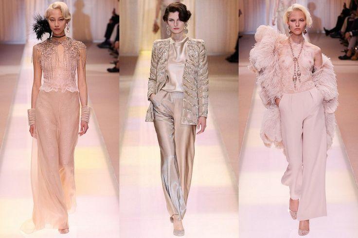 Paris Fashion Week: Armani Privé Fall 2013 Couture ...