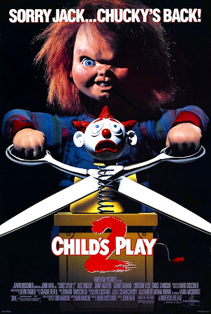 Poster Of Child's Play 2 (1990) In Hindi English Dual Audio 300MB Compressed Small Size Pc Movie Free Download Only