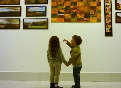 Los más jovencitos también disfrutan con el arte de Julio Poblete