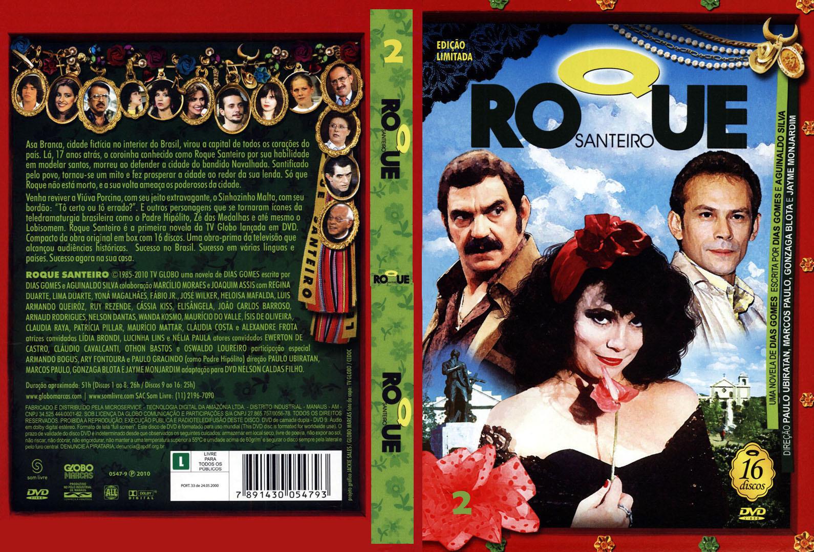 Download Roque Santeiro DVDRip Novela Completa ROQUE SANTEIRO CAPA 2