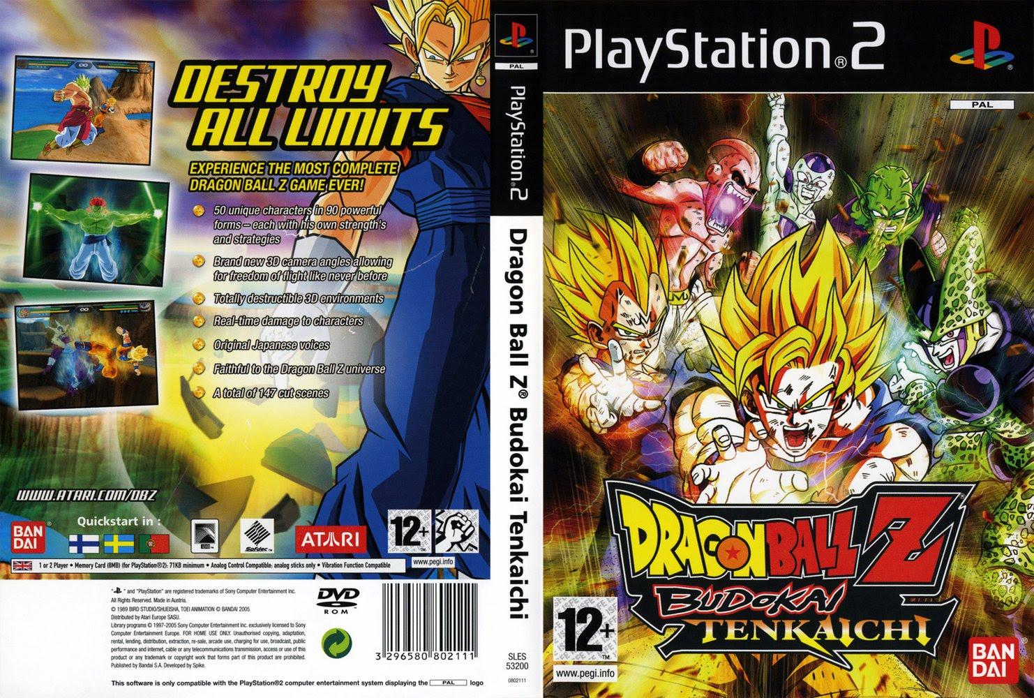 Dragon Ball Z: Budokai Tenkaichi (PS2) - Dicas e Macetes