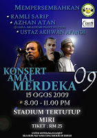 KONSERT AMAL MERDEKA DI MIRI