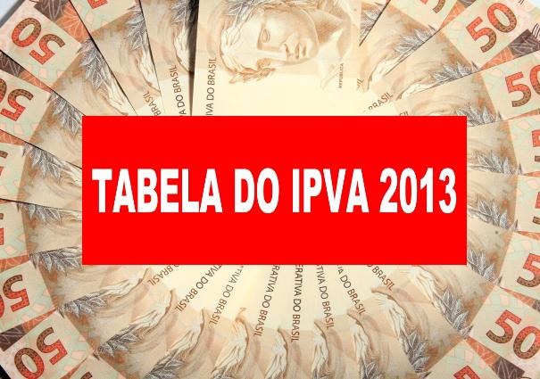 """TABELA (+ valor venal) do """"PVA 2013 São Paulo"""