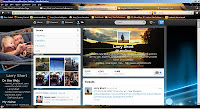 Twitter profile for LarryShort (click to enlarge)