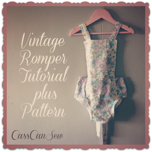 Baby Romper Tutorial | AllFreeSewing.com - All Free Sewing