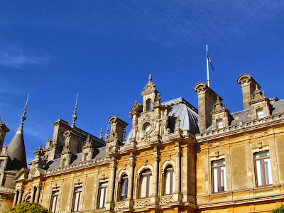 Waddesdon Manor, autumn, Baron Ferdinand de Rothschild, National Trust, visit, day trip,