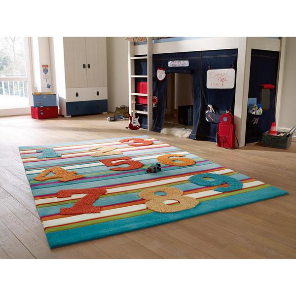 Jolies tapis pour les chambres d 39 enfants d cor de maison for Tapis chambre d enfants