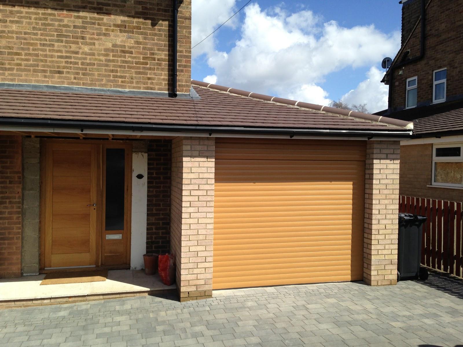 Alcas Garage Doors Garage Doors In Leeds Irish Oak Roller Door