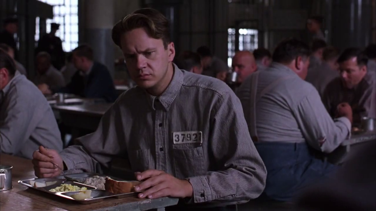 movie review the shawshank redemption the ace black blog breaking the familiar pattern of friends opposite dispositions both andy and red are understated saying more stance and expressions than words