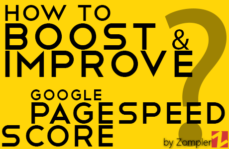 ImproveGoogle page-speed score