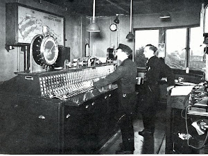 Portsmouth Harbour signal box 1950