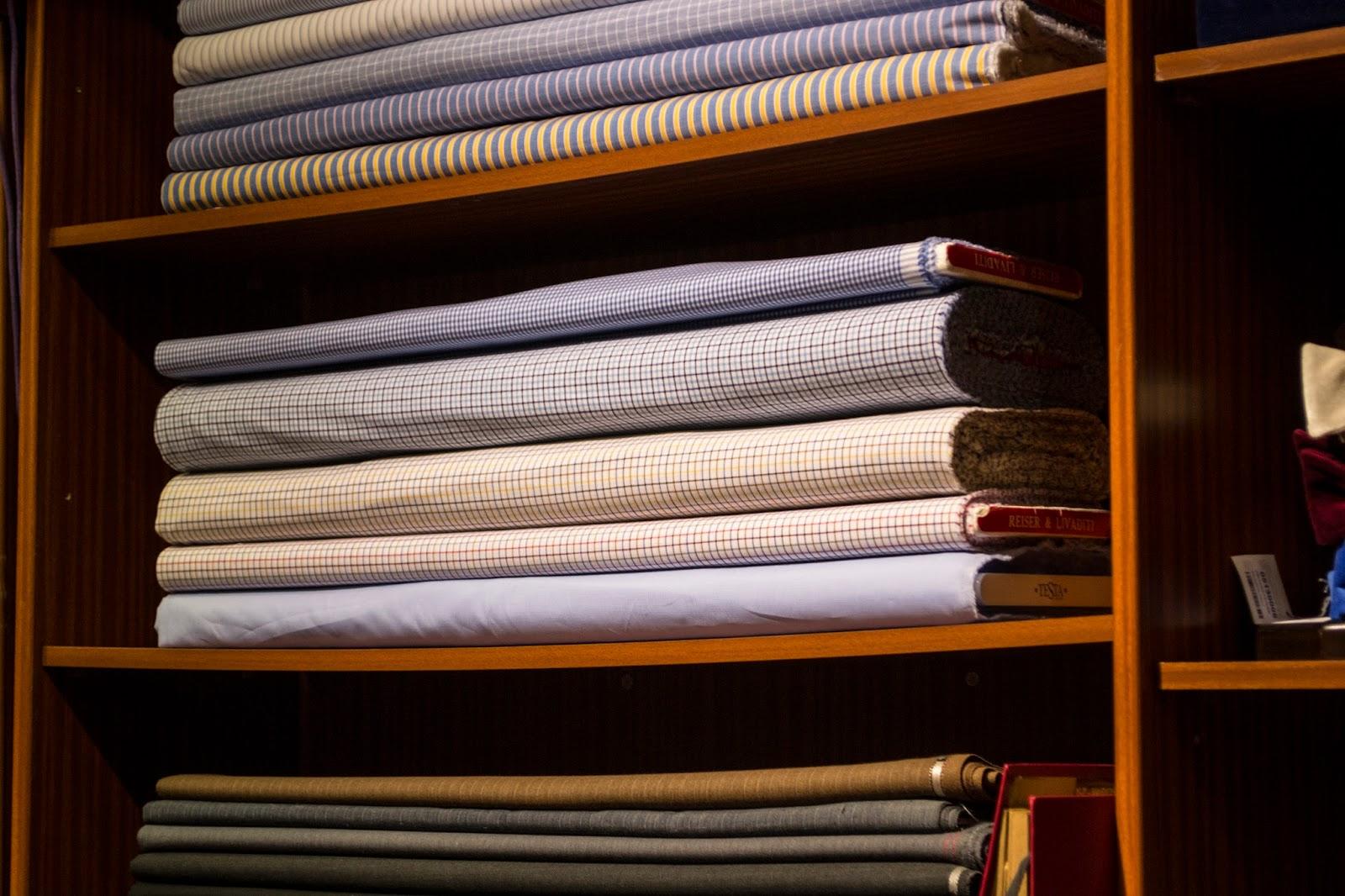 Proceso de Camisa a medida en Sastrería Langa. (Capítulo I)