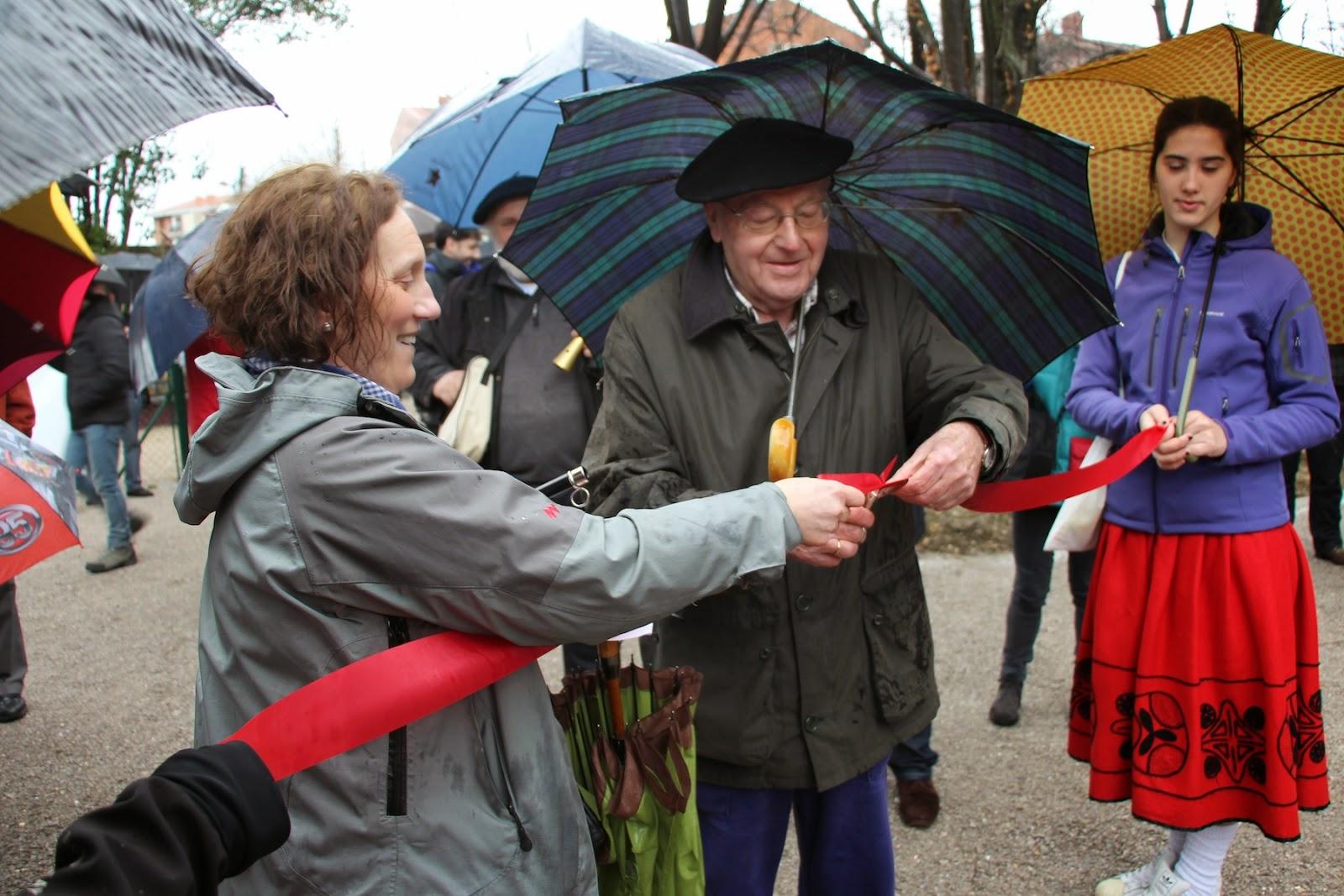 Inauguración popular de la finca Munoa