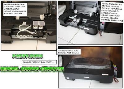 Cara Memasang Infus Printer  3