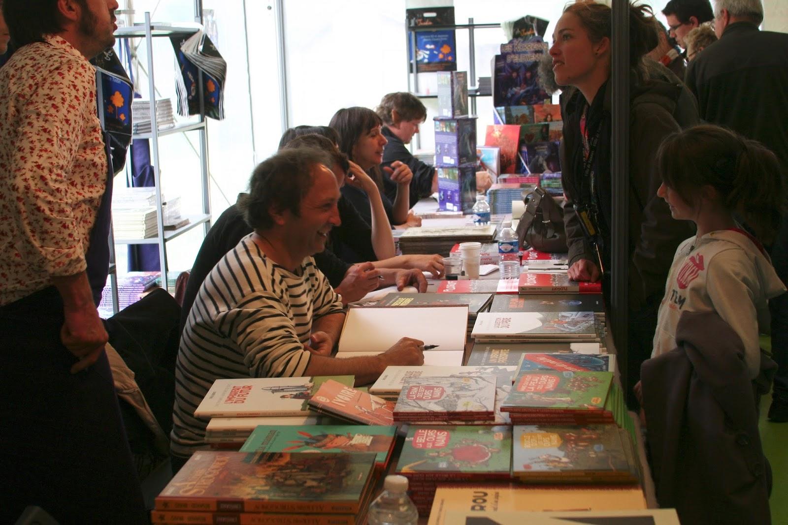 Les patantes aventures d 39 emile bravo blog non officiel salon du livre en bretagne du 21 22 - Salon du livre en bretagne ...