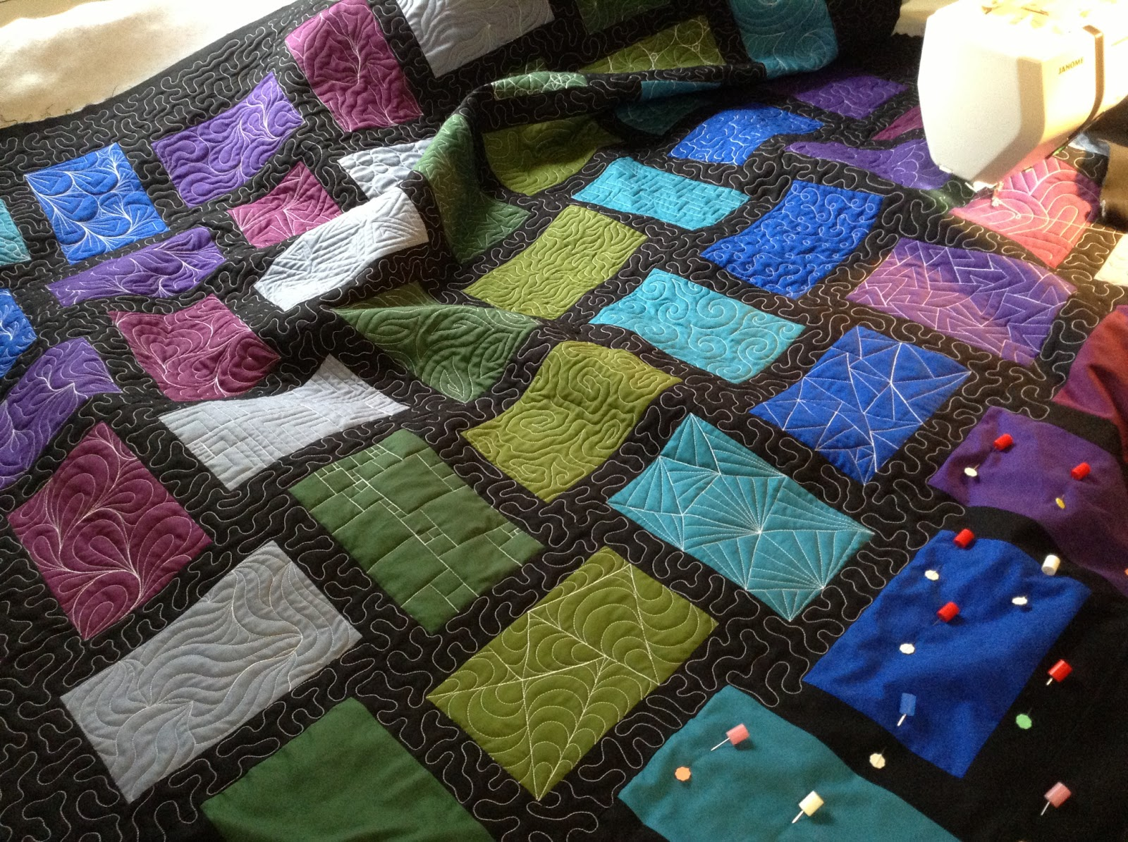The Free Motion Quilting Project: New Craftsy Class! Free Motion Fillers Volume 1
