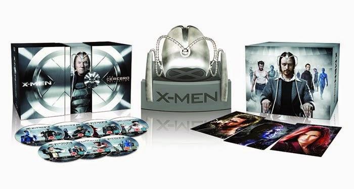 """Edición Cerebro """"X-Men: Días del futuro Pasado"""""""