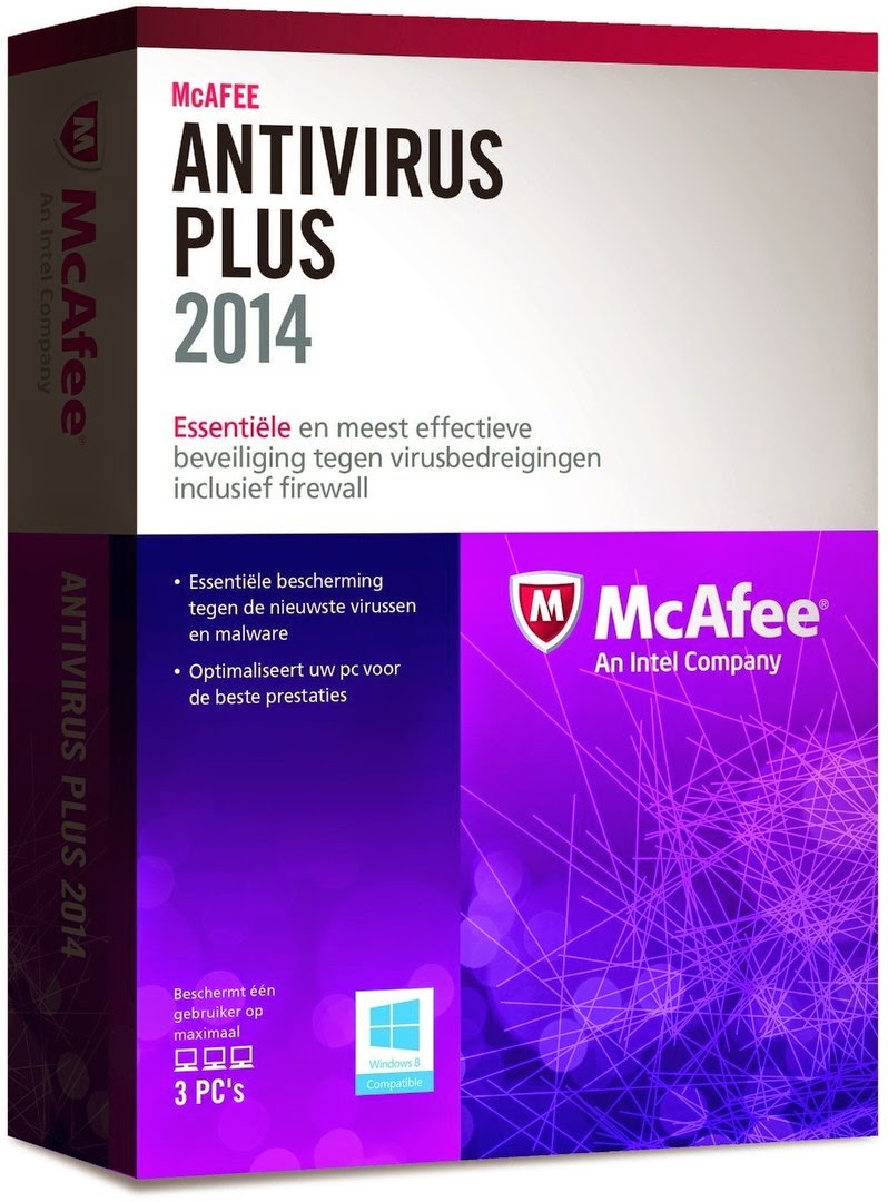 Free McAfee 2014 Anti Virus Plus
