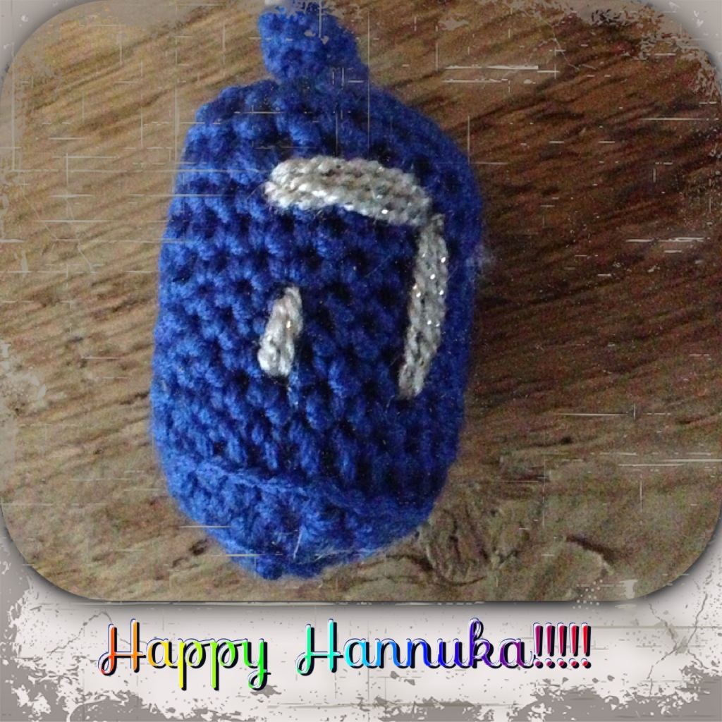 Annoo\'s Crochet World: Dreidel Free Crochet Pattern