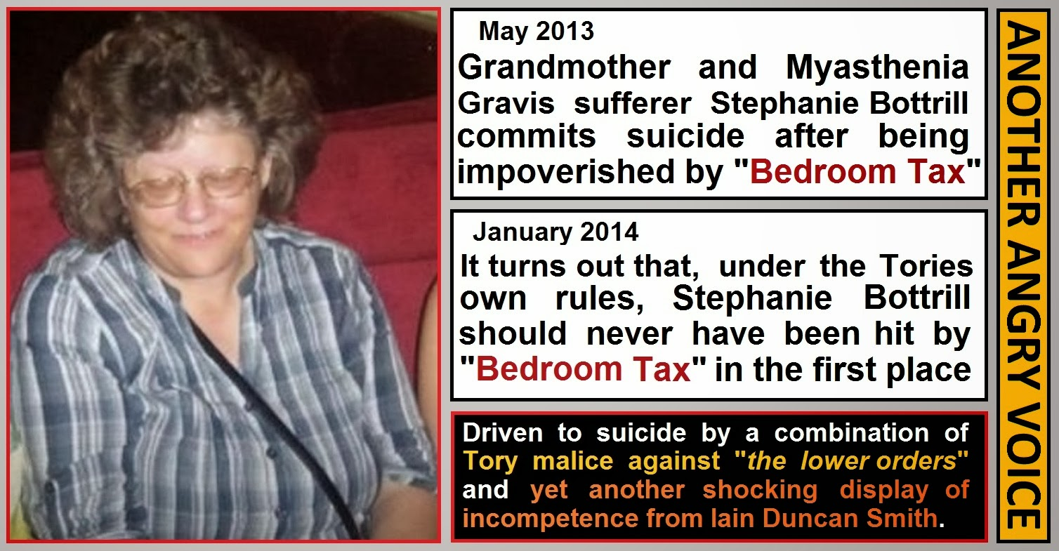 driven to suicide by the tories deadly bedroom tax