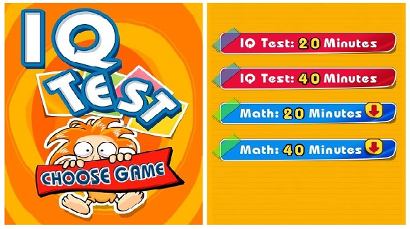 Fun Brain Training App - IQ Test