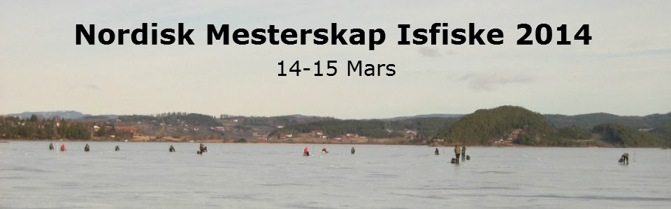 Nordisk Mesterskap Isfiske 2014