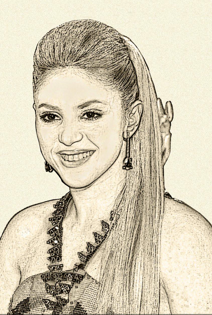 Shakiira, la bella cantante colombiana