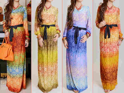 maxi dress korea kode 2694