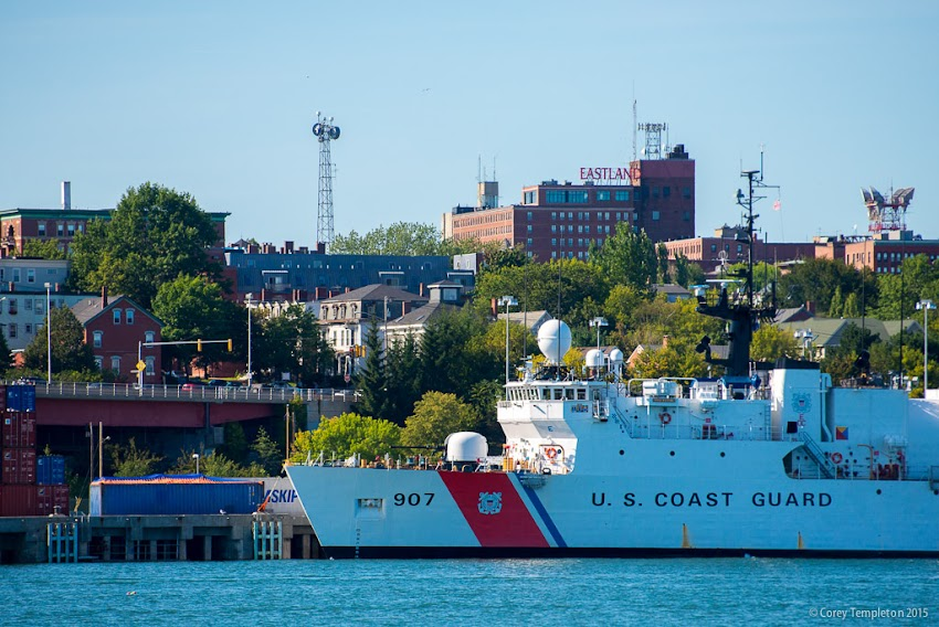 Portland, Maine September 2015 photo by Corey Templeton of United States Coast Guard Escanaba (WMEC-907)