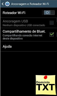 DominioTXT - Roteador Bluetooth Android