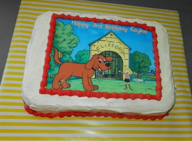 Piece Of Cake Clifford The Big Red Dog Real Party Feature